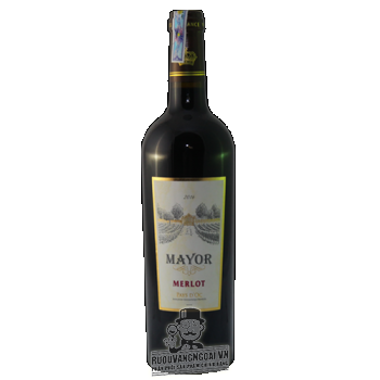 Vang Pháp Mayor Merlot 2016